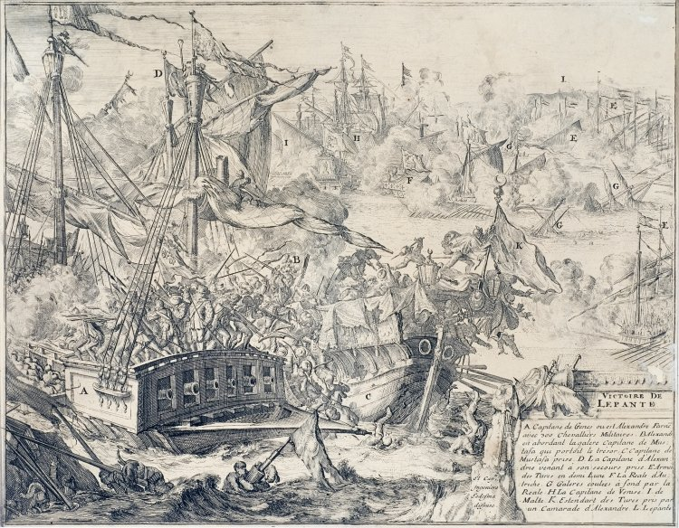 Historical document on the battle of Lepanto, Photo credit: Krk town cultural centre