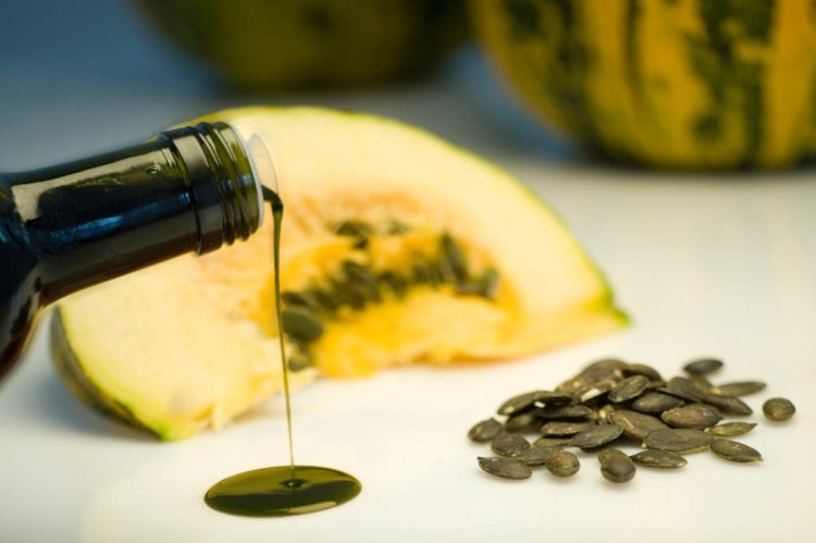 Pumpkin seed oil has a wonderful, nutty  flavor that blends well with many dishes