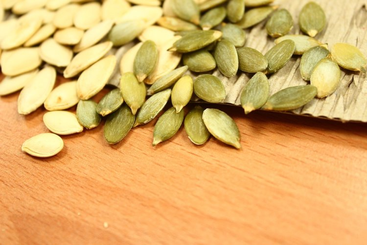 Pumpkin seeds are a healthy snack and a great addition to many dishes