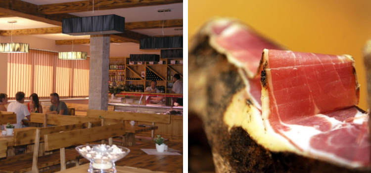 In the house of the Krk's prosciutto guests can learn about the method of production of this local delicacy