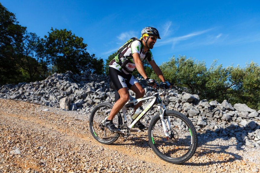 Biciklizam na otoku Krku