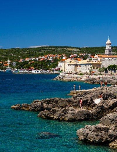 Plaže na otoku Krku jedne su od najljepših hrvatskih plaža