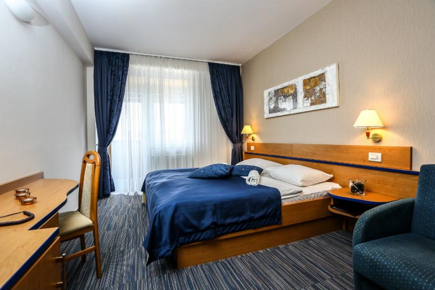 Lovely bedroom in Dražica hotel in Krk