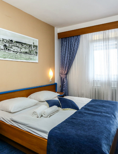 Beautiful bedroom in Dražica hotel in Krk
