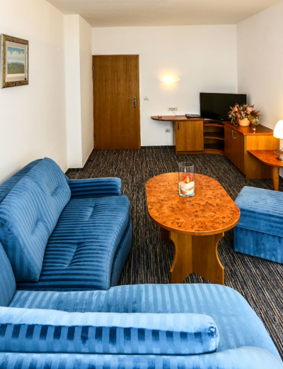 Elegant living room in Dražica hotel in Krk