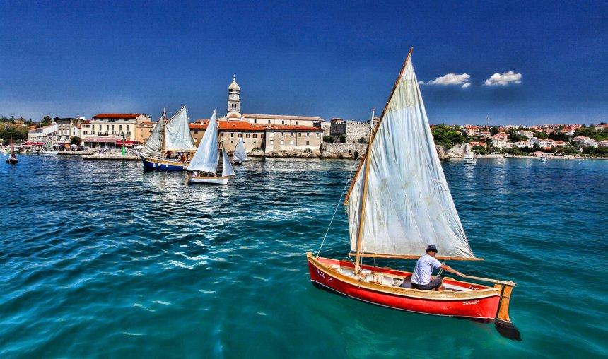 Beautiful town of Krk