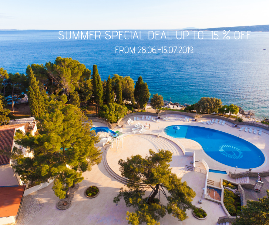Summer Special deal at Dražica hotel in Krk