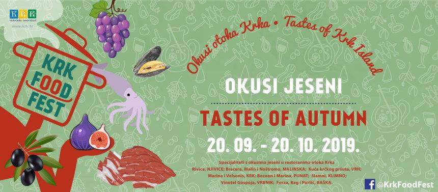Krk Food Fest - Tastes of Autumn in 2019