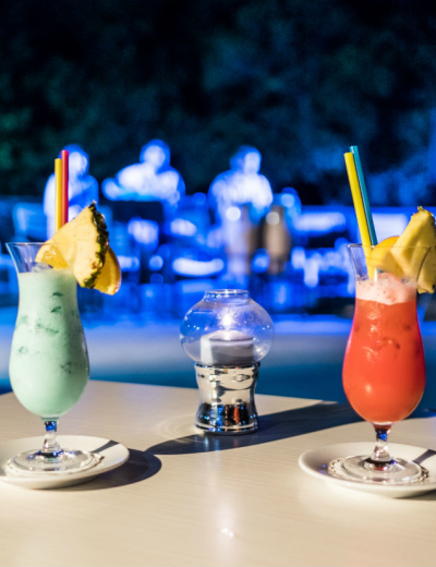 Lovely drinks for a great evening at Dražica hotel in Krk