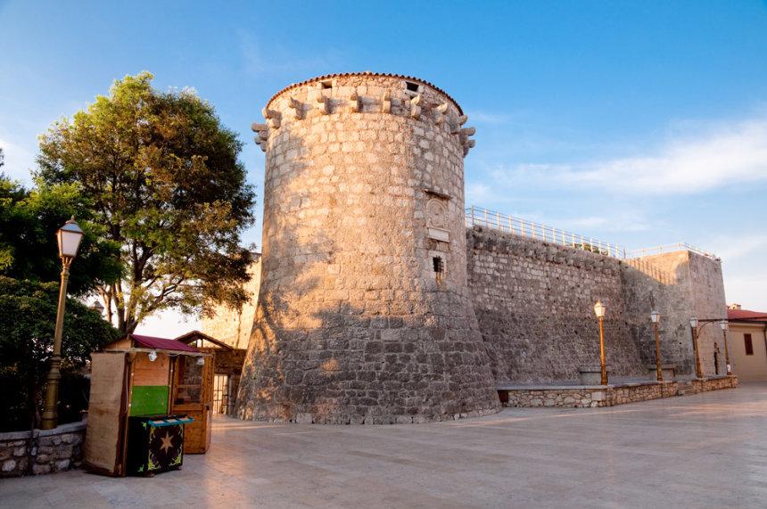 Krk attractions - Frankopan Castle in Krk town