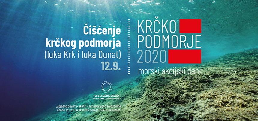 Krčko podmorje 2020 - morski akcijski dani