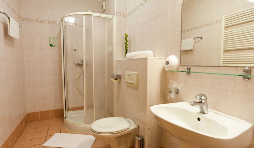 Bathroom in an apartment in Lovorka villa in Krk