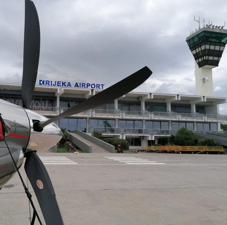 Zračna luka Rijeka na otoku Krku (izvor slike: Zračna luka Rijeka)