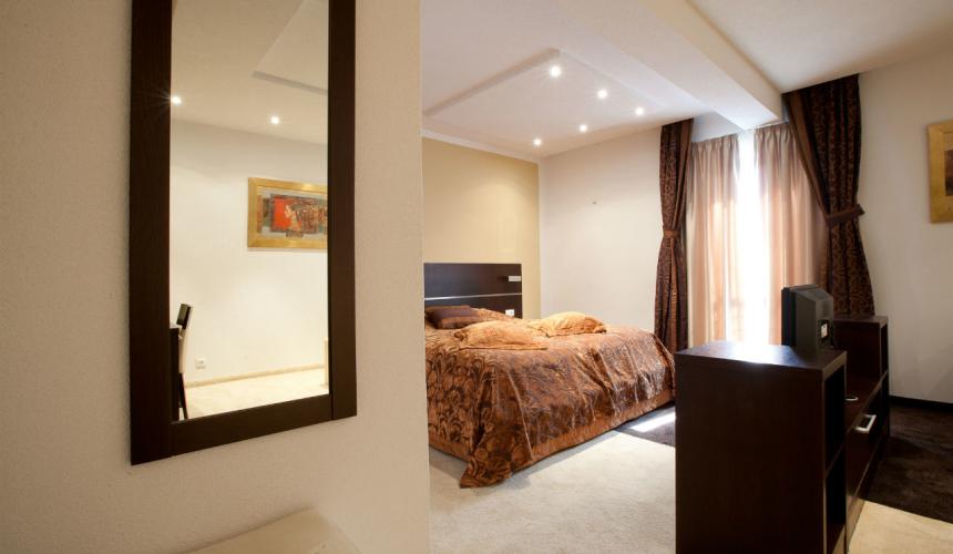 Elegant hotel room in Marina boutique hotel in Krk