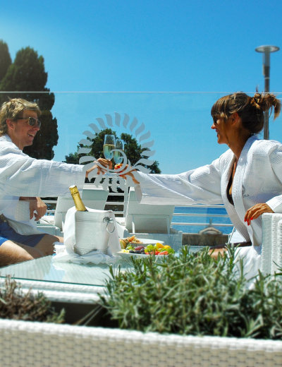 Toast to pure relaxation at Valomet VIP Lounge Zone in Krk
