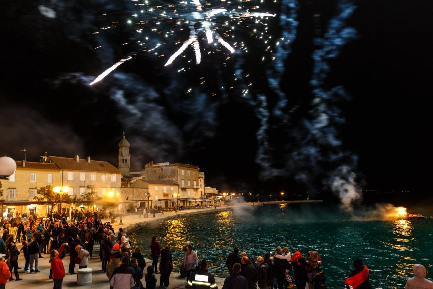 Celebrate New Year's Eve in the town of Krk